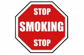 Stop Smoking Warning Sign