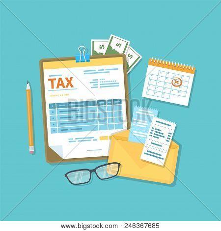 Payment Of Tax Accounts Bills