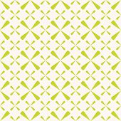 Vector Geometric Seamless Pattern. Summer Abstract Texture In Bright Green And Beige Colors. Simple  poster