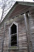 picture of 1700s  - An old church from the 1700s abandoned in the forest - JPG