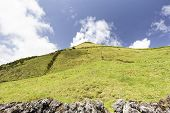 Hills And Pastures On The Eastern Edge Of Pico Island In The Azores, Portugal. poster