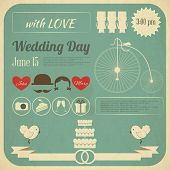 Wedding Invitation Infographics Card