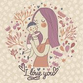 picture of babysitter  - Mothers love - JPG