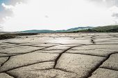 pic of mud  - Dry mud from a dry area - JPG