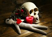 pic of voodoo  - Conceptual photo of love magic - JPG
