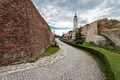 stock photo of yugoslavia  - Entrance Gate in Kalemegdan Fortress Belgrade Serbia - JPG