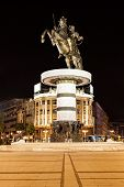 image of great horse  - Warrior on a Horse statue  - JPG