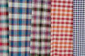 image of loincloth  - Close up texture of thai style loincloth - JPG
