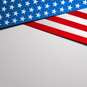 foto of star shape  - detailed illustration of a stylized patriotic stars and stripes background - JPG