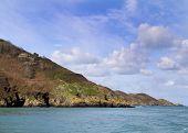pic of sark  - A Coastal scene Sark Channel Islands UK - JPG