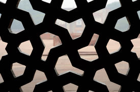 picture of swastika  - Traditional islamic ornament - JPG