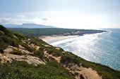 foto of tarifa  - Canuelo beach next to Zahara de los Atunes in Cadiz Andalusia Spain  - JPG