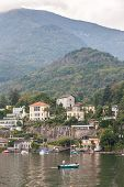 picture of lagos  - The view of  the Lago Maggiore - JPG