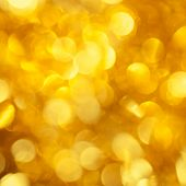 stock photo of illuminating  - Gold background - JPG