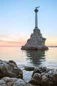 stock photo of sevastopol  - Veiw of Sevastopol sea bay - JPG