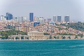 pic of ottoman  - Panoramic viewe at Istanbul and Dolmabah - JPG