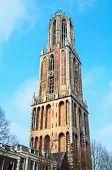 foto of dom  - Dom Tower in Utrecht - JPG
