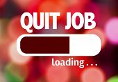 pic of quit  - Progress Bar Loading with the text - JPG