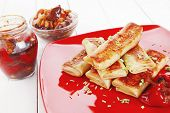 stock photo of red meat  - russian food  - JPG