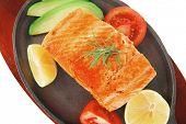 stock photo of gold panning  - healthy sea food - JPG