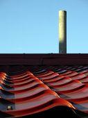 foto of tilde  - Photo focused on a roof  - JPG