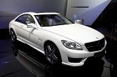 PARIS, FRANCE - SEPTEMBER 30: Paris Motor Show on September 30, 2010 in Paris, Mercedes-Benz CL63 AM