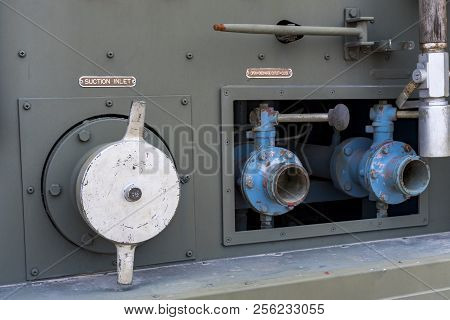 Water Valve Of Military Armored