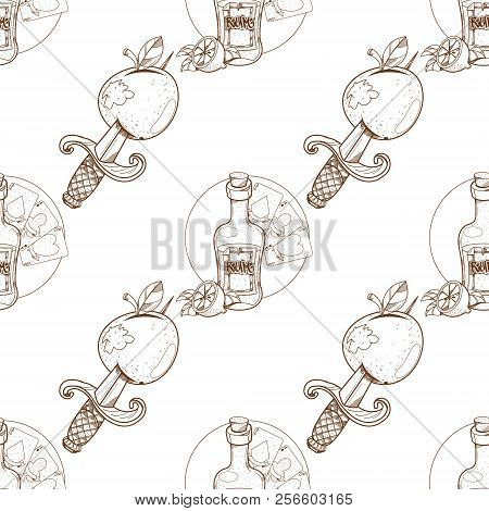 Seamless Pattern For Design Surface