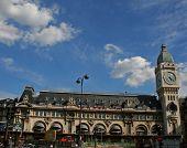 stock photo of gare  - wide view of the gare de lyon - JPG