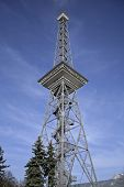 transmitter tower, berlin, germany