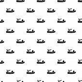 Sandal Pattern. Simple Illustration Of Sandal Pattern For Web poster