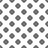 Circle Loading, 25 Percent Pattern. Simple Illustration Of Circle Loading, 25 Percent Pattern For We poster
