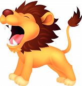 Roaring Lion-cartoon