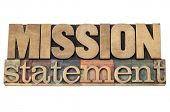 image of statements  - mission statement  - JPG
