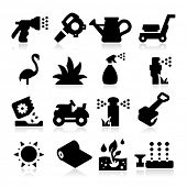 stock photo of trimmers  - lawn Icons - JPG