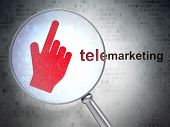 pic of telemarketing  - Advertising concept - JPG