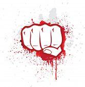 stock photo of revolt  - Fight symbol - JPG