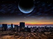 picture of alien  - Alien planet - JPG