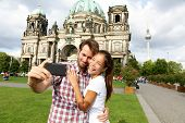 foto of dom  - Berlin Germany travel couple selfie self portrait - JPG