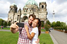 picture of dom  - Berlin Germany travel couple selfie self portrait - JPG
