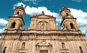 pic of bolivar  - The famous Cathedral in Bogota - JPG