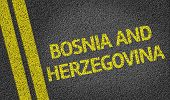 picture of luka  - Bosnia and Herzegovina written on the road - JPG
