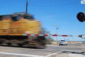 picture of locomotive  - Picacho AZ USA  - JPG