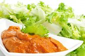 foto of endive  - escarole endive with romesco sauce - JPG