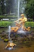 foto of samson  - fountain Triton - JPG