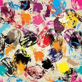 stock photo of fingerprint  - Seamless background pattern - JPG