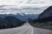 pic of backwoods  - Dalton highway on Alaska - JPG