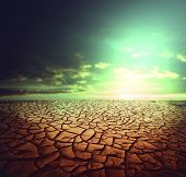 image of drought  - Drought land - JPG