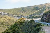 picture of south-western  - Robinson Pass over the Outeniqua Mountains between Mosselbay and Oudtshoorn in the Western Cape Province of South Africa - JPG