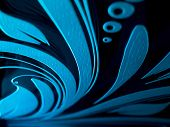 picture of laser beam  - Highlighted laser engraving on glass surface abstract pattern design concept - JPG